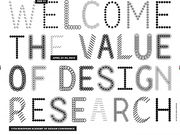 EAD 11 - The Value of Design Research